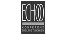 Logo Echoo Konferenz Dolmetschen