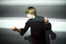 """Picture of """"Burning the Sound"""", performance by and with Rufolfe Quintas"""